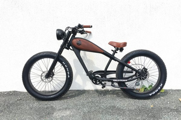 Gorille Cycles : le nouveau modèle rétro de la marque française de vélos électriques Gorille Cycles